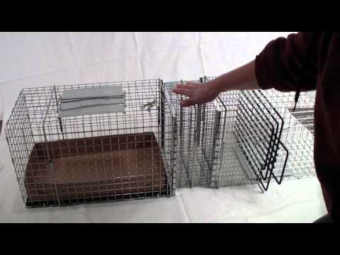 Feral Cat Accessory -  Model C306 Litter Cage Connection