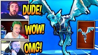 STREAMERS REACT TO *NEW* DRAGON GLIDER!