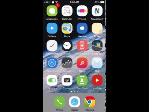 How to play YouTube music video song in the background iPhone/iPad iOS 7