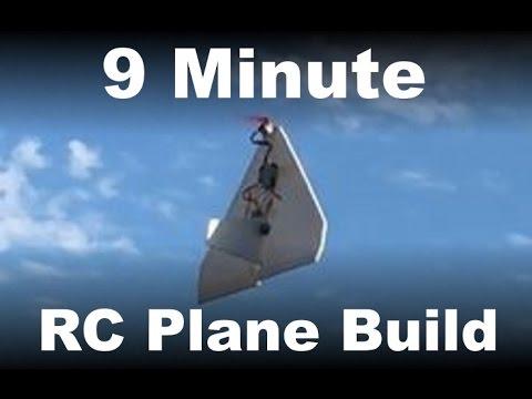 9 Minute RC Plane Build