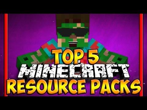 Top 5 Minecraft Resource Packs - Minecraft 1.10 Texture Packs - (HD)
