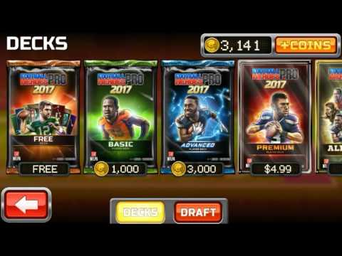 Football heros pro 2017 pack opening