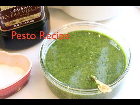 Easy Classic Basil Pesto Recipe