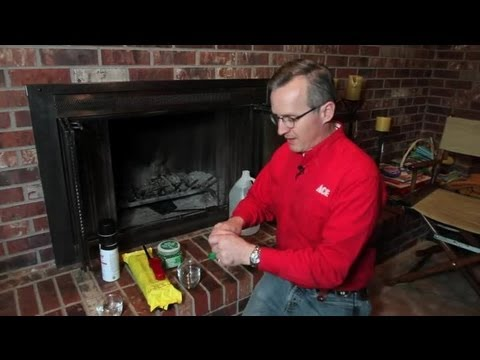 How to Get a Smoke Smell Out of a Fireplace : Home Repair & Maintenance