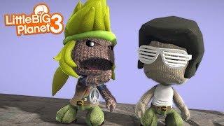 Littlebigplanet 3 - Fight Over A Sackgirl [short Film Lantebus] - Playstation 4