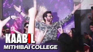 Hrithik Roshan & Yami Gautam At Mithibai College Festival - KAABIL PROMOTION