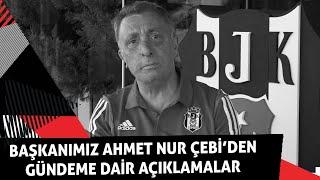 Başkanımız Ahmet Nur Çebi'den Gündeme Dair Açıklamalar