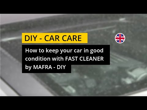 How to keep your car in good condition with Fast Cleaner