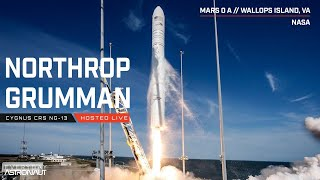 Watch NASA and Northrop Grumman launch to the ISS! (CRS-13)