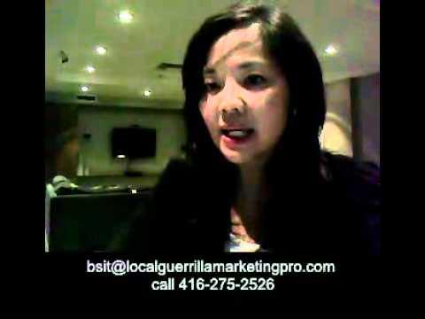 Bonnie Sit, Local Guerrilla Marketing, Toronto and the GTA, Canada