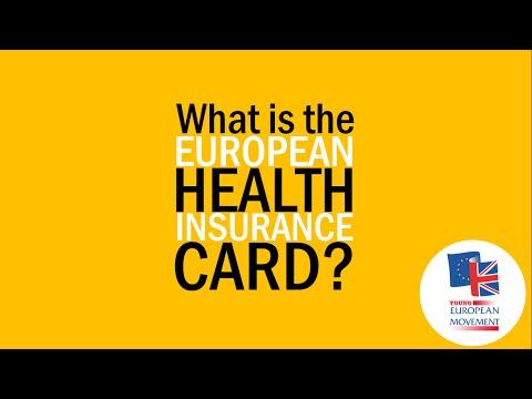 What's a European Health Insurance Card?