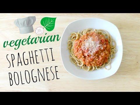 Vegetarian Spaghetti Bolognese Recipe- Quick & Easy!