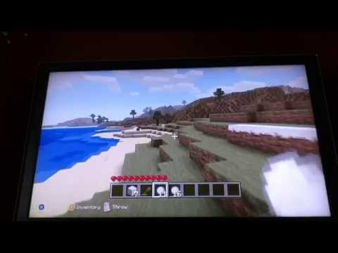 Minecraft xbox How to make snow and snowballs