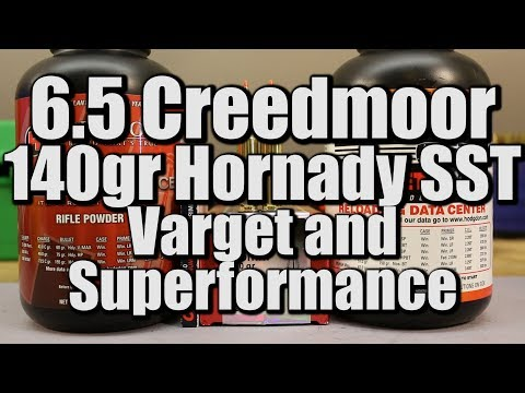 6 5 Creedmoor - 140gr Hornady SST with Varget and Superformance