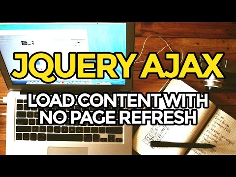 jQuery Tutorial: AJAX Load Content With No Page Refresh