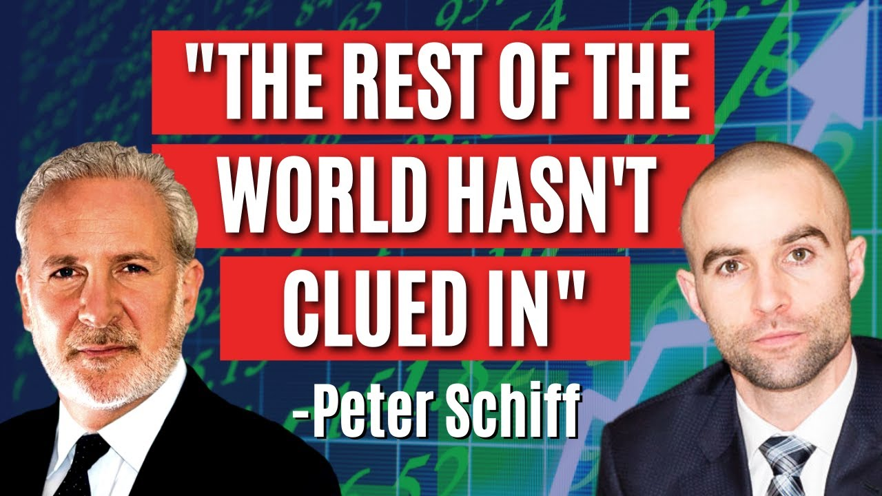 The Only Thing Holding the US Bubble Together Is The Rest of World Hasn't Clued In - Peter Schiff