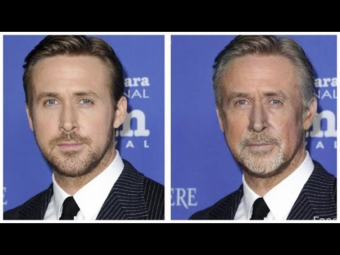 How celebrities will look in old age? (Face App)