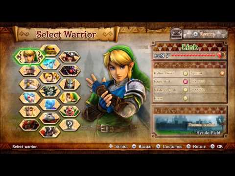 Toon Link Amiibo + Hyrule Warriors Majora's Mask DLC Pack Preview