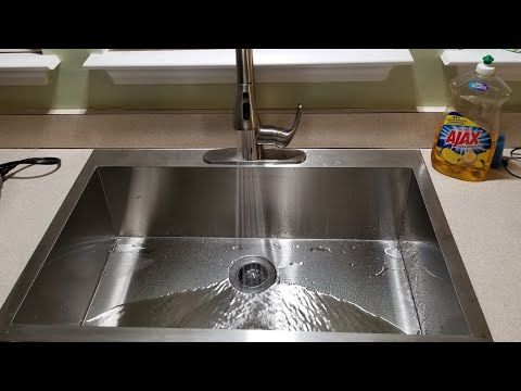 Badijum Touchless Kitchen Faucet plus new sink 33