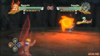 Naruto Storm 3: flying glitch