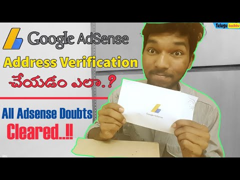 How to Verify Your Google Adsense | Complete Adsense Process Explained in Telugu