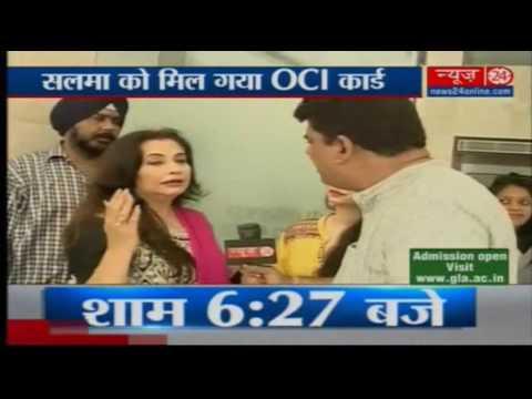 Pak-origin actor Salma Agha seeks 'Overseas Citizen of India' card