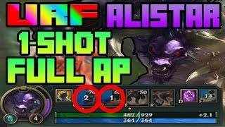 URF 2017 is BACK | Alistar ONE SHOT FULL AP | League of Legends | Patch