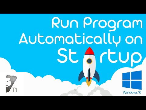 How to Run a Program Automatically on Startup