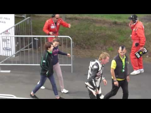 Shaggy n Doc leaving winners enclosure 2013