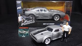 Fast & Furious 8 - Dom's Ice Charger - Jada Toys 1:24 Models Unboxing