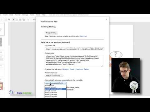 Episode 50: Embedding Google Presentations - Part 2