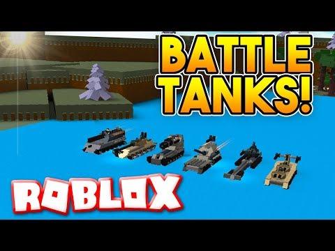 INSANE BATTLE TANKS!   Build A Boat For Treasure ROBLOX