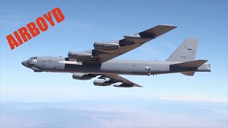B-52 Carries AGM-183A Hypersonic Missile