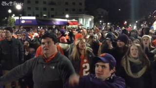 The roar goes up twice in Tigertown as Clemson takes the lead