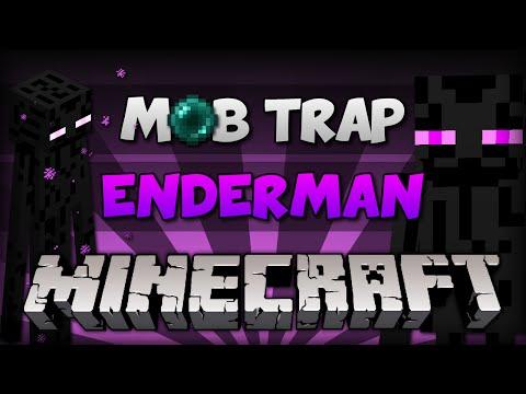 Minecraft: FARM ENDERMAN // XP + ITEM Farm! [ Tutorial PC e PE ]