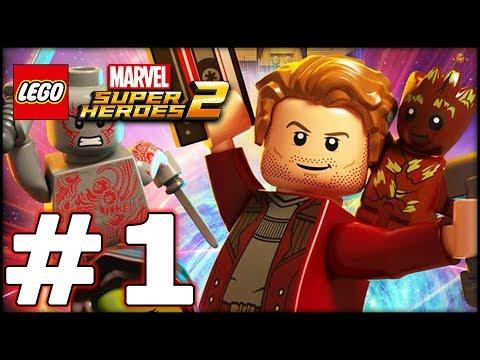 LEGO Marvel Superheroes 2 - LBA Episode 1 - This Map is Huge!