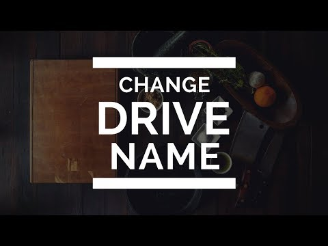 How to Change Drive Letters Name (A-Z) in Windows 10/8.1/7 | Change Drive Letter | Windows 10