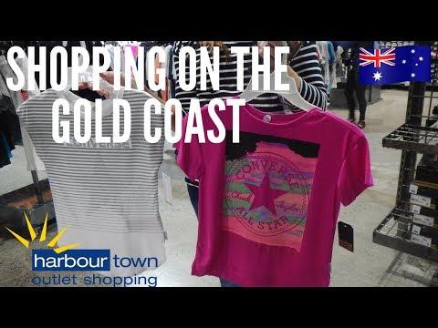 Outlet shopping Australia   Harbour Town, Gold Coast