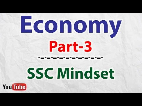 Economy Part-3 : National Income- GDP, NDP, GNP, NNP | SSC | UPSC