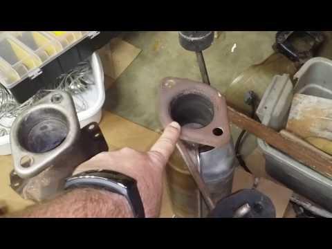 Temporary catalytic converter fix