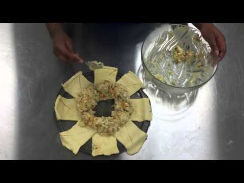 Chicken Pot Pie Crescent Ring