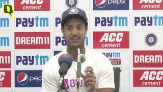 Mayank Agarwal Speaks After Scoring Career-Best Double Ton vs Bangladesh | The Quint