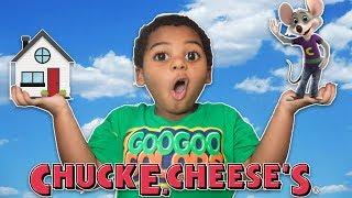 Download GOO GOO GAGA TRANSFORMED HOUSE INTO CHUCK E CHEESE'S!