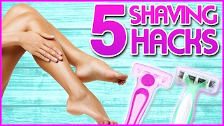 6 Shaving Hacks You NEED To Know w/ Ashley Elizabeth!