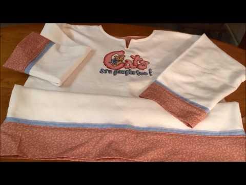 How to Turn Sweatshirt Into Tunic