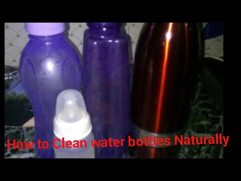 Clean bottles naturally | cleaning babies bottles | non chemical cleaning of bottle