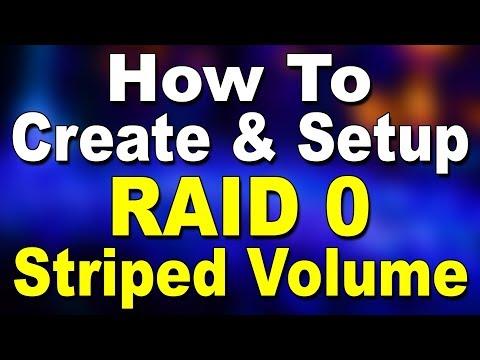 How To Create RAID 0? (Hindi)