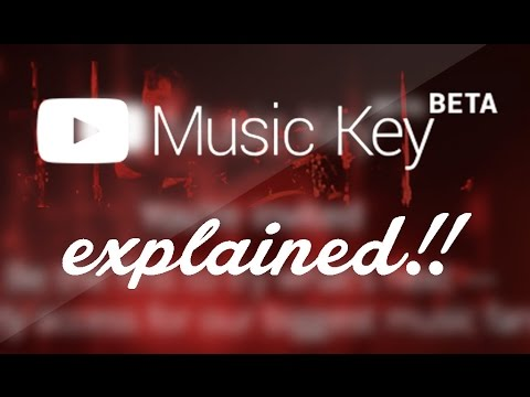 YouTube Music Key Subscription beta Service - Explained! | Youtube Musickey beta