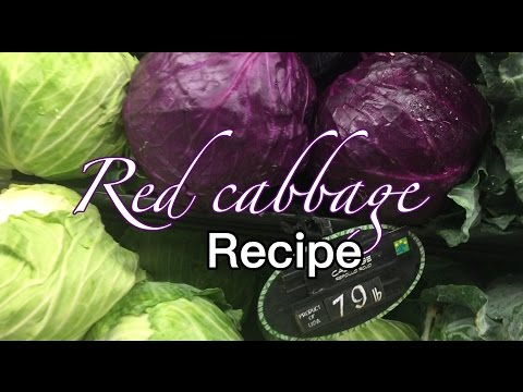 HOW TO COOK RED CABBAGE | CABBAGE SOUP | PJ Danita