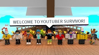 THE BIGGEST YOUTUBER EVENT! (Roblox Survivor S3)